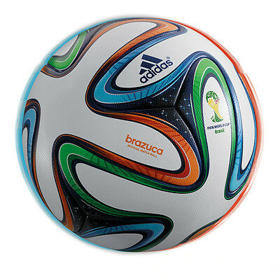 Adidas Brazuca Official Soccer Genuine Match Ball,( Made in Pakistan)