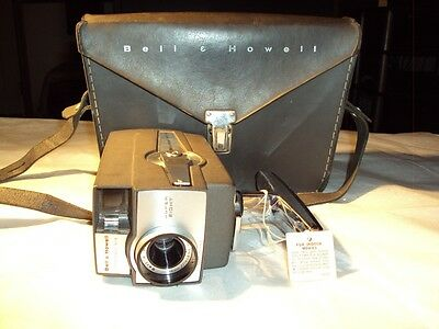 Vintage Bell & Howell movie camera Super Eight Optronic Eye