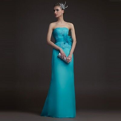Women Formal long Prom Dress Ball Gown Cocktail Party Evening dress Size M LXL04