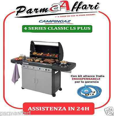 Barbecue A Gas Campingaz 4 Series Classic Ls Plus Con Fornello Laterale