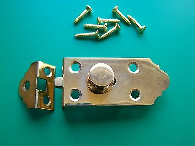 Vintage Latch Victorian Half Mortised Latch Flush Latch, Cabinet, Hutch,