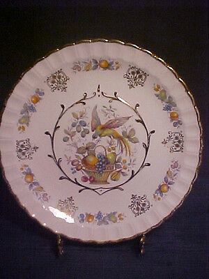 VTG Wood&Sons Alpine White Ironstone Plate/Dish for Avon-*Made in England*MINT