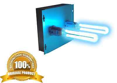Air Purifier whole house UV Light in duct for HVAC AC Duct Germicidal dual lamp