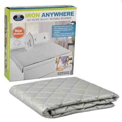 Iron Anywhere Ironing Mats Camping Travel Easy Storage Foldable 60X55Cm