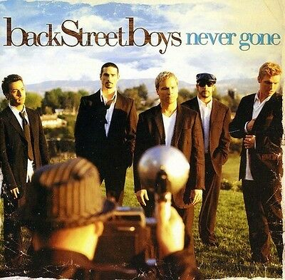 """Backstreet Boys """"Never Gone"""" CD, Incomplete, Just Want You To Know, I Still..."""