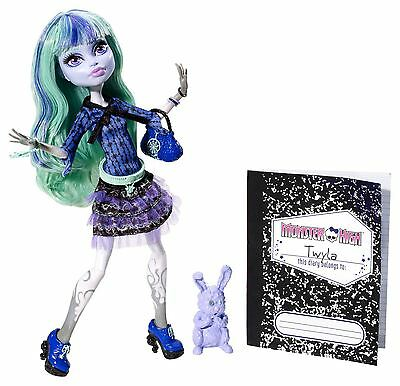 Brand New In Box Monster High 13 Wishes Twyla Daughter Of The Boogey Man Doll