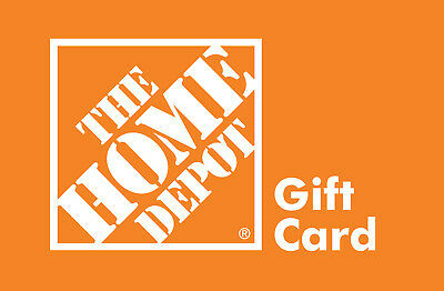 The Home Depot Gift Card $100 Physical Card shipped. Not emailed.