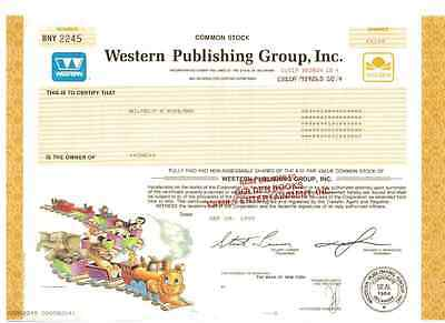 Western Publishing Group Inc