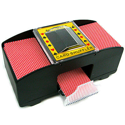 Casino Deluxe Automatic 4 Deck Card Shuffler, Free Shipping, New