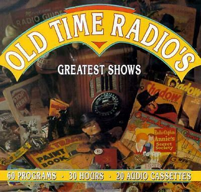 Old Time Radio's Greatest Shows (1994, Cassette / Paperback, Unabridged)