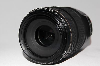 Exellent condition Canon EF 75-300mm f/4-5.6 IS USM From japan