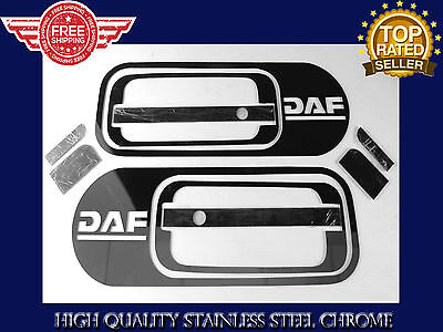 Daf Xf 105 Euro 6 Stainless Steel Chrome  Door Handles  Cover Set