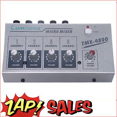4 Input Microphone Mixer - FAST SHIP FROM SYDNEY