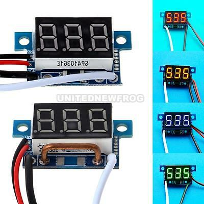 Mini Direct Current 0.36 Inch LED Digital Display Tube Ammeter Meter Panel New