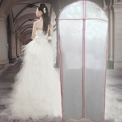 175*58cm Storage Bag Cover Clothes Protector Case for Wedding Dress Gown Garment