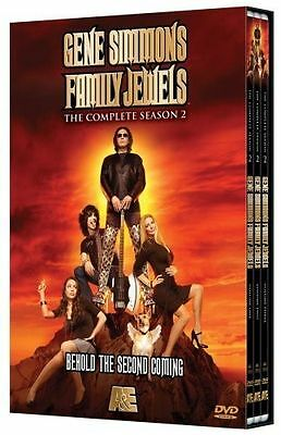 GENE SIMMONS FAMILY JEWELS - THE COMPLETE SEASON 2 ~ DVD BRAND NEW ~