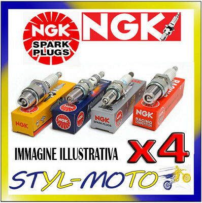 KIT 4 CANDELE NGK ILKAR7A7 RENAULT Clio 3 TCE 1.2 74kW D4F 780/784 2007