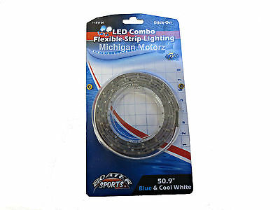 """Boater Sports LED light, 50.9"""" Blue and Cool White Flexible Strip Lights, 51934"""