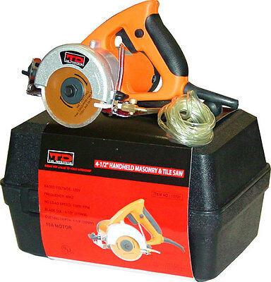 "4-1/2"" Handheld Electric Masonry and Tile Saw TJL INDUSTRIAL 10701 (WH08-G1-L3)"