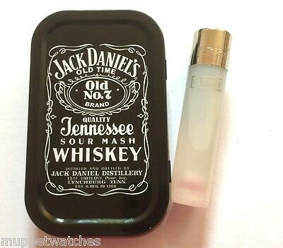 JACK DANIELS Cigarette Tobacco Smoking TIN & 1 x 'CLEAR' GAS CLIPPER LIGHTER