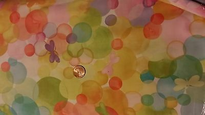 Michael Miller Fabric GLEE Butterfly Bubbles- yards BTY