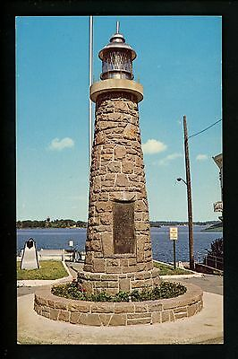 New York NY Lighthouse postcard Light House War Memorial, Clayton
