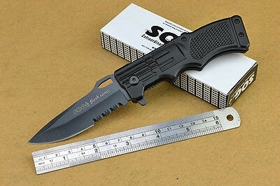 SOG Folding Assisted Opening  Knife Pocket Hunting Camping Rescue Saber New c34