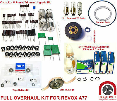Revox A77 full overhaul kit
