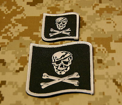 NSWDG Blue Squadron Patch Set NSWDG B&W SEAL Team 6 DEVGRU VELCRO® Brand