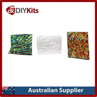 Dichroic Glass Refill Pack for Microwave Kiln - COE 90 - 28 grams