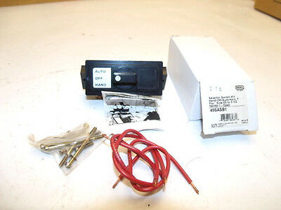 Furnas 49Sasb1 Selector Switch Kit Hand - Off - Auto Horz. T Nema 1 New In Box