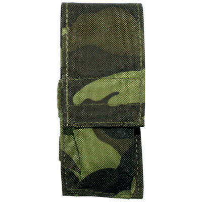 Small Tactical Knife Pouch Airsoft Hunting Hiking Bushcraft Czech Woodland Camo