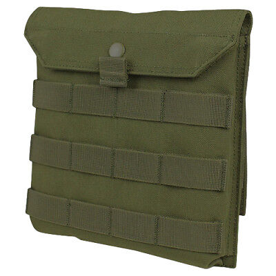 Condor Side Plate Utility Pouch Molle Compatible Army Safety Plates Holder Olive