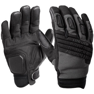 Helikon Assault Combat Heavy Duty Ihd Tactical Airsoft Security Gloves Black