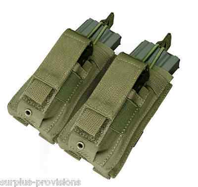 Condor - Double Kangaroo Mag Pouch - OD Green - Tactical Molle - #MA51