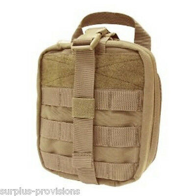 Condor - Tactical Rip-Away EMT Pouch - Tan - Large first aid bag - #MA41