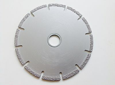 "4"" Diamond Laser Multi Purpose Cutting Disc Disk Blade Concrete Steel Tiles Wood"