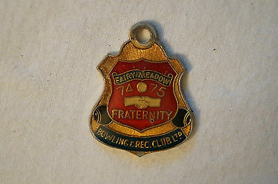 Collectable - Vintage - 1974 Fairy Meadow Bowling & Rec. Club - Badge - Medal