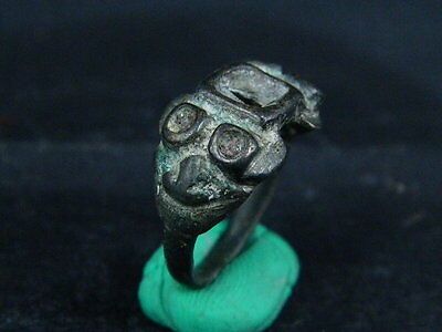 Ancient Bactrian Bronze Ring (Wearable) 300 BC  #BR1309