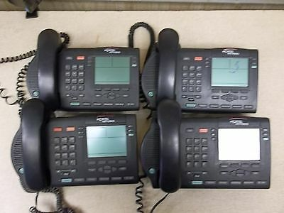 Nortel M3904 Lot of 4 Business Office Speakerphones, Charcoal *FREE SHIPPING*