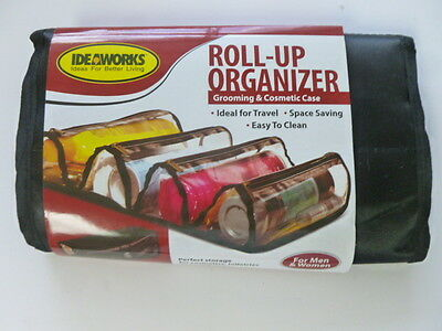 Roll-Up Organizer Ideal for Travel Space Saving