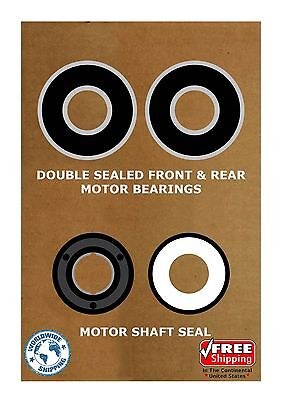 Pool & Spa Motor Bearing Kit & Shaft Seal USQ1102 USQ1152 UST1102 UST1152 K104
