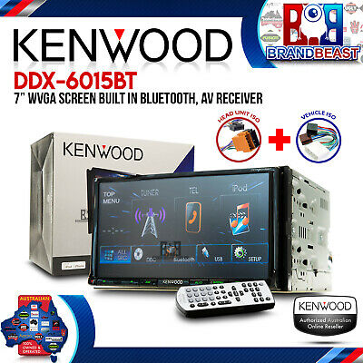"Kenwood Ddx-6015bt 7"" Car Audio Screen Built In Bluetooth, Av Receiver"
