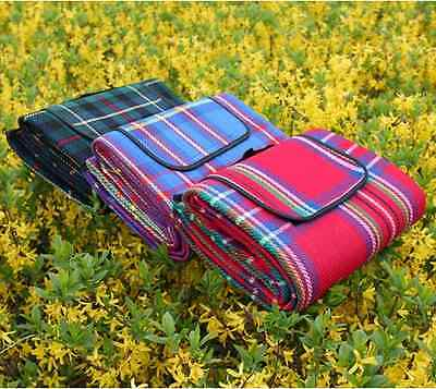 Waterproof Moistureproof Large Super Thick Outdoor Camping Picnic Mat Blanket 1p
