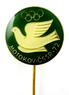 OLYMPIC PIN CZECH MOTOKOV COMPANY FOR MUNICH 1972 OLYMPIC GAMES