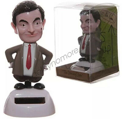 MR BEAN Groover Solar Powered Dancing Car Home Office Christmas Xmas Gift Cute