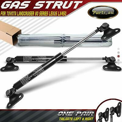 Set of 2 Tailgate Gas Struts for Toyota Landcruiser 80 Series 90-97 Lexus LX450