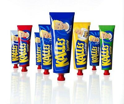 Kalles Caviar Tube in Many Flavours Made in Sweden WE COMBINE SHIPPING