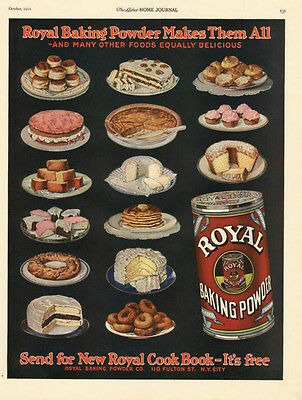 Royal Baking Powder   -   Makes them All    -     1922
