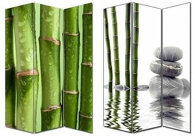 Large 3 Panels Bamboo Room Divider / Screen